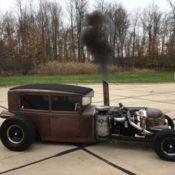 1930 Ford Model A High End Custom Rat Rod Cummins 12V Diesel ROLL COAL