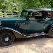 1957 chevy bel air restored to original condition for 1933 chevy 2 door sedan