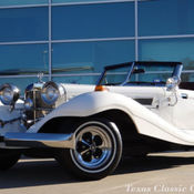 1930 mercedes benz ssk roadster replica custom show car for 1934 mercedes benz 500k heritage replica