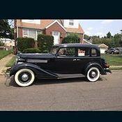 1937 pontiac 6 4 door touring sedan restored suicide for 1934 pontiac 4 door sedan