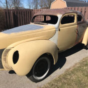 1940 Ford Hollywood Knights 1940 Ford Coupe hot rod 32 39 38