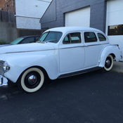 Antique 1939 dodge luxury liner special d11 2 door sedan for 1941 dodge 4 door sedan
