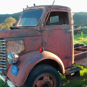 Nissan Florence Sc >> 1957 WHITE 3000 COE CABOVER X-CAB TRUCK: KUSTOM HOT RAT ...