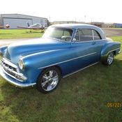Chevrolet bel air styleline deluxe 2 door hardtop for 1952 chevy 2 door hardtop