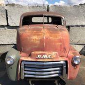 NO RESERVE 1947 1948 1949 1950 GMC COE Cabover Truck Cab Hot Rod