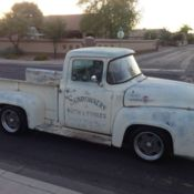 Ford F250 Short Wide Crown Vic Swap California Patina F100 Hot Rod
