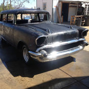 56 Chevy 2 Door Wagon 350motor 4speed Classic Chevrolet