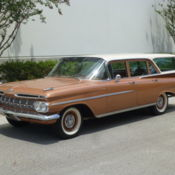 1959 Chevy Cherolet Brookwood Station Wagon Classic