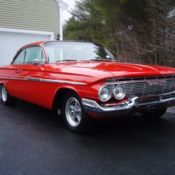 1961 Chevy Impala 2 Door Sedan Rare Find 348 V8 With 3 Two