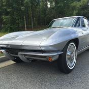 1963 split window restomod project car downs corvette for 1963 corvette split window kit car