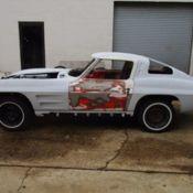 1963 corvette split window coupe project classic chevrolet corvette 1963 for sale. Black Bedroom Furniture Sets. Home Design Ideas