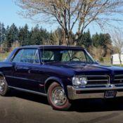 1964 Pontiac GTO Convertible - Numbers Matching CA Car