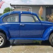 1965 VW Beetle 1600 Dual Port Engine 4Speed Trans Axle Factory Black