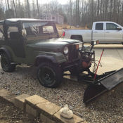 1966 Jeep Wrangler CJ 5 Snow Plow New Soft Top New Tires New Brakes New  Clutch