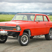 old school gasser build powerful 350 5 speed manual super clean well done classic. Black Bedroom Furniture Sets. Home Design Ideas