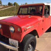 71 jeep jeepster commando pickup from cali in power steering and brakes classic jeep. Black Bedroom Furniture Sets. Home Design Ideas