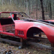 1969 Camaro Race Car Body Or Parts Car Classic Chevrolet Camaro