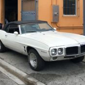 1969 Pontiac Firebird Convertible Project Car No Engine Or