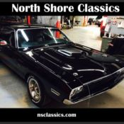 1973 Dodge Challenger with a 1970 440 motorThis Hot Rod Black Beauty