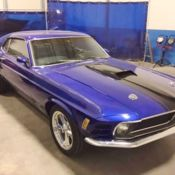 NOS RESTORED M CODE LOW MILE -1971 Ford Mustang Mach 1