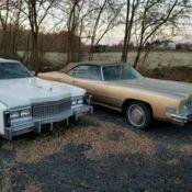 Near Complete 1972 Cadillac Eldorado Parts Car - Classic Cadillac