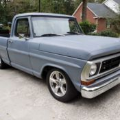 1972 ford F100 on full crown vic swap - Classic Ford F-100