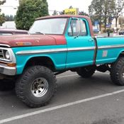1972 Ford F250 360 V8 Gas Auto Pickup Truck Utility Bed