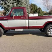 1978 FORD F250 4X4 CAMPER SPECIAL HIGHBOY FACTORY WINCH NO RESERVE AUCTION - Classic Ford F-250