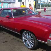 Chevrolet Monte Carlo Landu L V Chrome Rims Swivel Bucket Seats