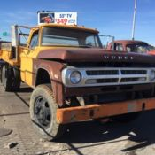 Yellow Dodge D Dually With Dump Bed D D No Reserve on 1988 Dodge Ram 3500 Dually For Sale