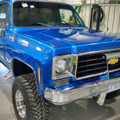 1977 Chevy Pickup Truck 4 Wheel Drive Short Bed New