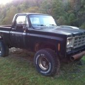 1965 4 wheel drive panel truck with big block motor project