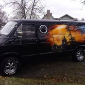 1964 Dodge A 100 Van Retrosurf Wagon Hippie Old School Custom