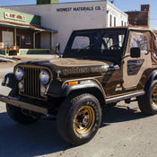 Jeep 1978 J10 J 10 Golden Eagle 401 Shortbed 4x4 Rust Free