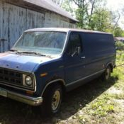 1978 Ford E-150 Chateau Van for sale/Clean title but doesn't