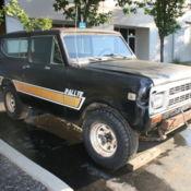 1972 International Scout II Custom, Vintage A/C, V8, 4 Speed