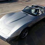 1982 Chevrolet Corvette 2 Tone Silver & Maroon RARE FACTORY