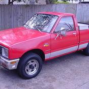 Antique Rare 1982 Diesel Biodiesel Chevy Chevrolet LUV Isuzu