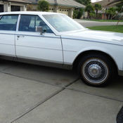 1985 Cadillac Seville Commemorative Edition Classic Cadillac
