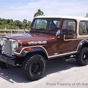 Cj Sahara X L Inline Six Manual Spd Clean Carfax Jeep Wrangler Cj