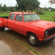 1984 Dodge Ram Prospector D350 Crew Cab Truly One Of A