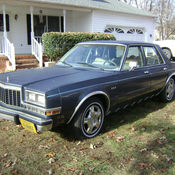 1985 dodge diplomat salon sedan 4 door 5 2l classic for 1987 dodge diplomat salon