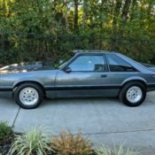 Fully built supercharged foxbody mustang convertible, no