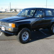1987 toyota 4runner 22RE 5speed 4x4 - Classic Toyota 4Runner 1987