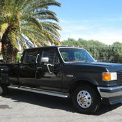 1988 ford f 350 xlt lariat cab chassis 2 door 7 5l for Ford palm springs motors