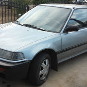1988 Honda Civic Hatchback   Sporty/ Newly Painted... Good Engine. No  Aircon.