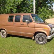 1990 E 150 Econoline Shorty Van Short Wheel Base Daily Driver Nice Interior