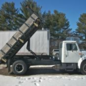 1950 International Harvester Flat Bed Dump L170 Truck