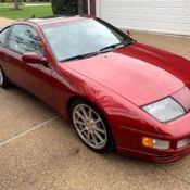 Red 300ZX Twin Turbo, 41k miles, 5 speed manual, leather