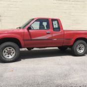 Toyota Dlx Extended Cab Pick Up Truck Tacoma No Rust on Engine 1994 Toyota Pickup 3 0 Liter V6